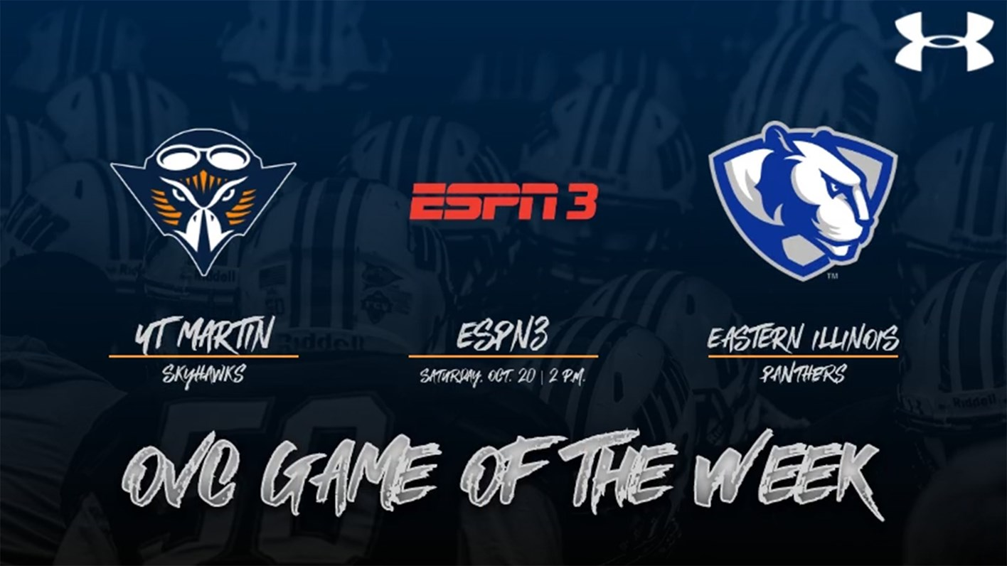 Ut Martin Contest At Eastern Illinois Tabbed As Espn3 Ovc Football