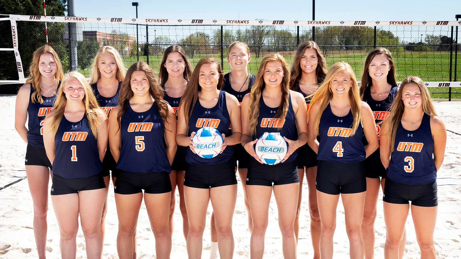 2019 Beach Volleyball Roster Utm Athletics